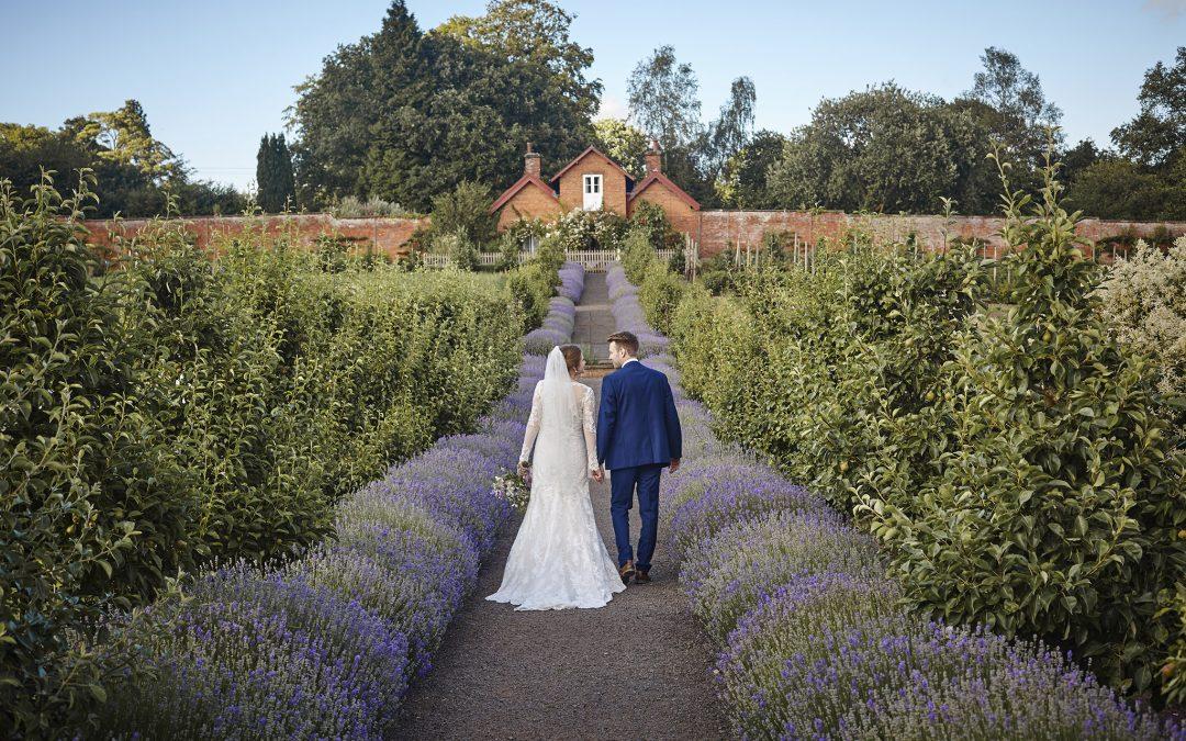 Sugnall Walled Gardens Wedding